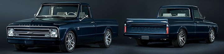 Chevy C10 Trucks banner