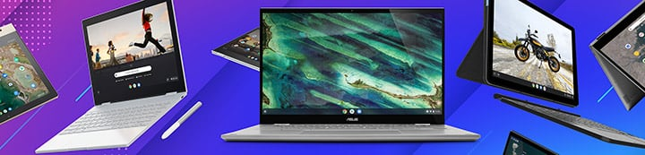 Google Chromebook Forums banner