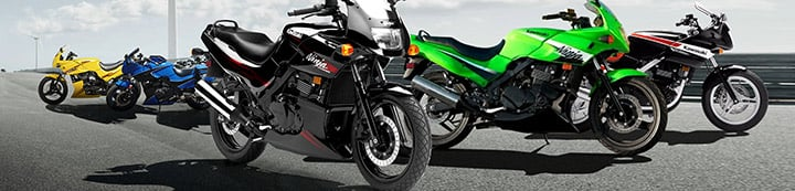 Ex-500.com - The home of the Kawasaki EX500 / Ninja 500R banner