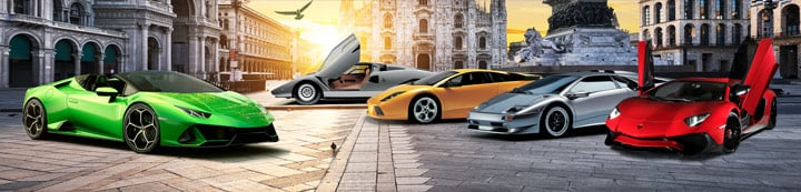 Lamborghini Talk banner