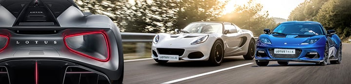 The Lotus Cars Community banner