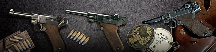 Luger Pistols Central banner