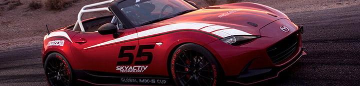Mazda MX-5 Miata banner