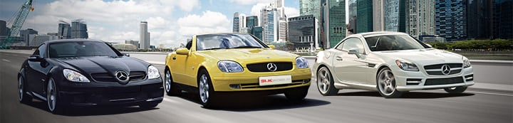Mercedes SLK World banner