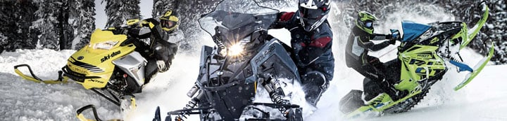 Snowmobile World banner